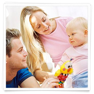 Babys 1 Jahr Entwicklung Fremdeln