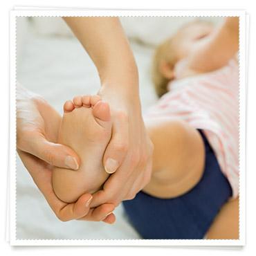 Babys 1 Jahr Pflege Babymassage