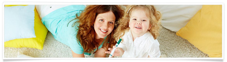 Babys 2 Jahr Betreuung Babysitter vs. Tagesmütter